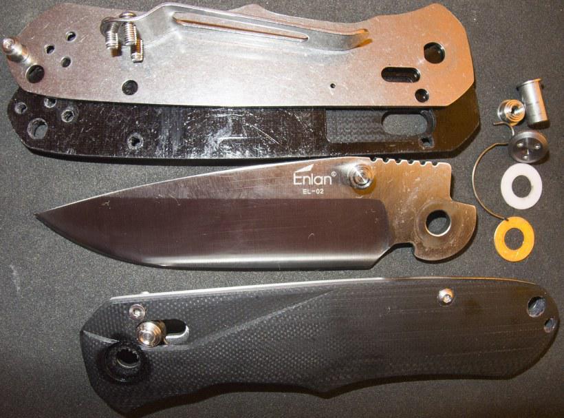 Ножи складные своими руками