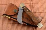 Exkluzívny hubársky nôž ručne robený