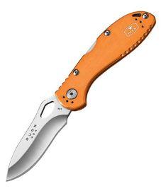 Buck Slimline Lockback Orange