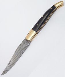 Damaškový nôž Laguiole-byvolí roh