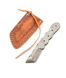 Damaškový nôž na krk - 02KPDAM