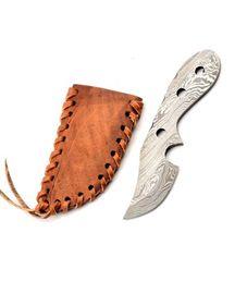 Damaškový nôž na krk - 03KPDAM