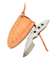 Damaškový nôž na krk - 04KPDAM