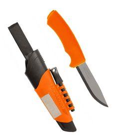 Nôž Mora Bushcraft Survival Orange