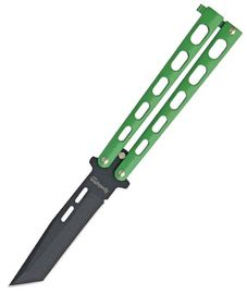 Remington Butterfly Green Handles.