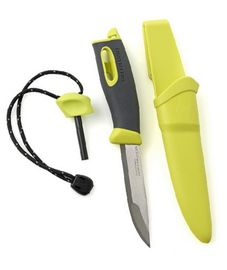 Swedish FireKnife - lime