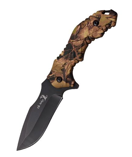 Elk Ridge Fixed Blade Camo ER564CA