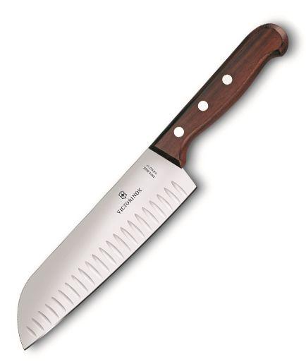 Kuchynské nože Victorinox - Santoku Palisander 6.8520.17G