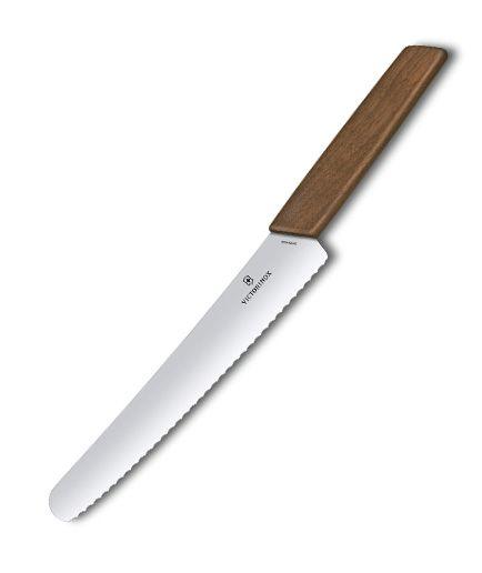 Kuchynské nože Victorinox - Swiss Modern nôž na chlieb a pečivo 6.9070.22G