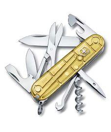 Nože Victorinox - Victorinox CLIMBER GOLD 1.3703.T88