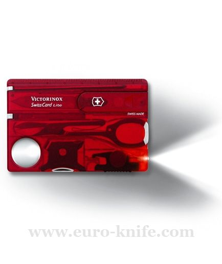 Nože Victorinox - Victorinox SWISS CARD Lite 0.7300.T