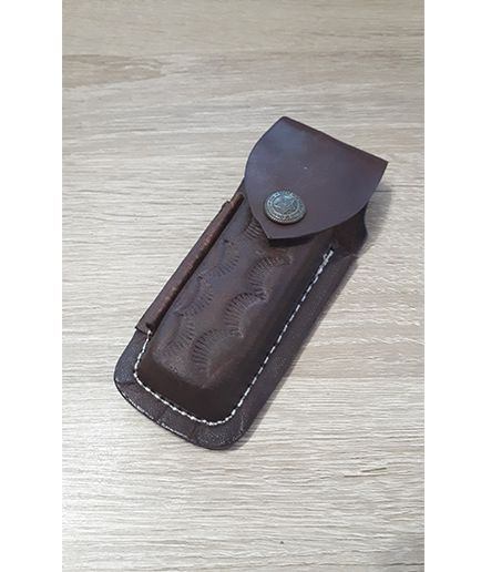 Puzdro kožené ručne robené 115x50mm